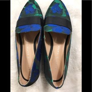 Kelly & Katie satin loafers